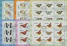 2011 Butterflies,Schmetterlinge,Papillons,Farfalle,Romania,Mi.6509,KB,CV$125,VFU