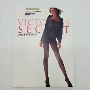 Victorias Secret Pulse Points Level 2 Compression Pantyhose Large Naked control