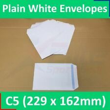 More details for paper envelopes c5 a5 plain white self seal medium