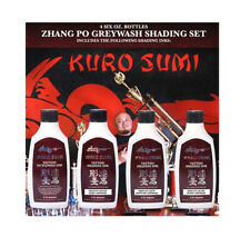 6oz KURO SUMI ZHANG PO - GREY WASH SHADING SET FOR GREYWASH + BLACK