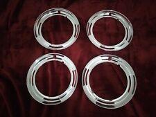 NOS GENUINE BMW Neue Klasse 2000 CS Steel Wheels Trim Ring with Some Blemishes