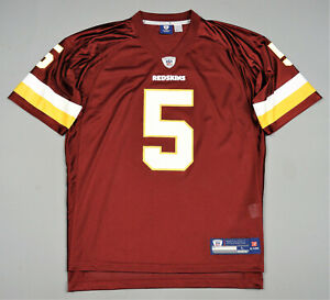 Washington Redskins Reebok No.5 Mcnabb Shirt NFL Jersey Size L