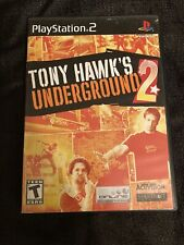 Tony Hawk's Underground 2 PlayStation 2 PS2 Black Label (BOX ONLY! NO DISK!!)