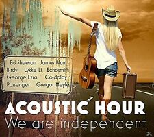 Acoustic Hour: we are Independent 2 CD NEUF James Blunt/COLDPLAY/ED sheeran/+