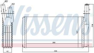 MAXGEAR Wärmetauscher Innenraumheizung für  LANCIA ALFA ROMEO 2578730