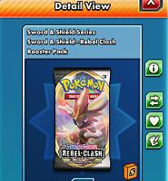 50x Rebel Clash Codes sent INGAME fast - Pokemon TCG Online