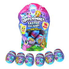 Hatchimals Easter Egg Hunt Eggs Filled with Jelly Beans and Stickers 16 Count