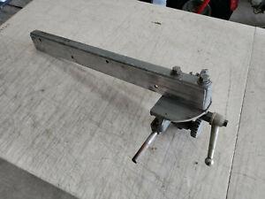 "Vintage Walker Turner Table Saw Micro-adjust Fence Fits 19 1/2"" Table Top"
