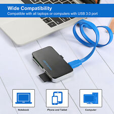 All in 1 Compact Flash Multi Card Reader CF Adapter Micro SD MS XD 5Gbps USB 3.0
