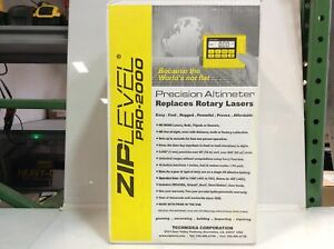 Clearance- Ziplevel Pro 2000B High Precision Altimeter