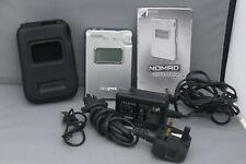 Muy raras Creative Nomad Jukebox Zen NX Plata 10 GB Digital Media Player funciona.