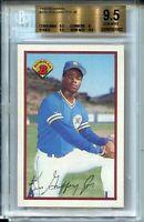1989 Bowman Baseball #220 Ken Griffey Jr Rookie Card RC Graded BGS Gem Mint 9.5