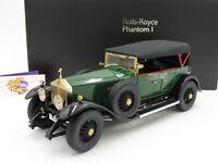 "Kyosho 8931G # Rolls Royce Phantom 1 Cabrio Baujahr 1929 in "" dunkelgrün "" 1:18"