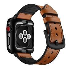 Apple Watch Band 42-44mm Series 4/3/2/1 Genuine Leather Strap Sweatproof New