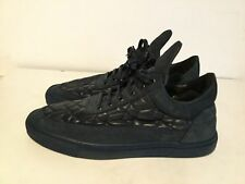 FILLING PIECES LOW TOP NAVY SIZE 10 EU 43 USED