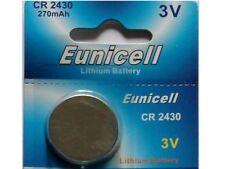 1 x Eunicell CR2430 3V Lithium Coin Cell Battery DL2430 K2430L ECR2430