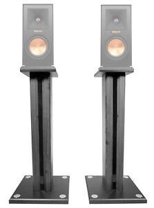 """Pair 26"""" Bookshelf Speaker Stands For Klipsch RP-150M Bookshelf Speakers"""
