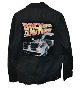 Back To The Future Denim Jacket Dangerfield Extremely Rare XL