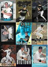(9)   JOSH HAMILTON ROOKIE CARD LOT  VARIOUS BRANDS,  NO DUPS  SEE SCAN