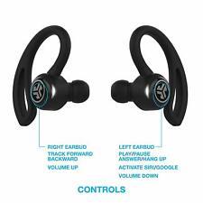JLab Epic Air Sport True Wireless Bluetooth Earbud Headphones Black - New