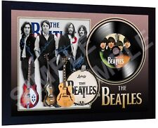 The Beatles Beatles For Sale SIGNED FRAMED PHOTO PRINT AND Mini LP
