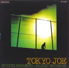 "(13) Ryuichi Sakamoto & Kazumi Watanabe –""Tokyo Joe""- U.S. Denon CD 1991-New"
