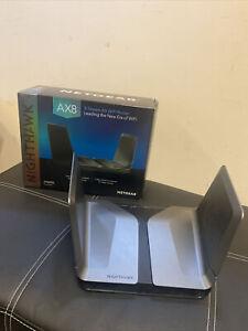 NETGEAR Nighthawk AX8 Dual-Band 8-Stream Wi-Fi 6 Router