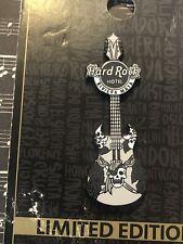 Hard Rock Riviera Maya Hotel Skull Pattern Guitar