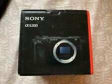Sony Alpha a6300 24.2 MP fotocamera Reflex Digitale-Nero (Solo Corpo)