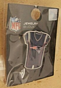 NE New England Patriots jersey lapel hat pin NFL