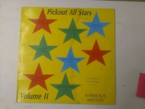 Pickout All Stars Vol 2-Various Artists Vinyl LP 1989 REGGAE DANCEHALL