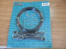 MALIN OR118BK Outrigger Rigging Kit No Release Clips, Black Mono & Cords