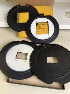 """Vintage Kodak Glassless Negative carriers 24x36mm and 2.25""""x 2.25"""""""