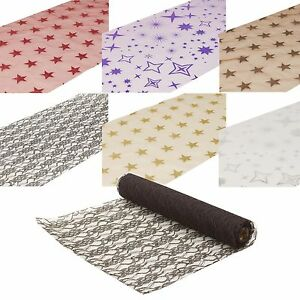 Disposable Table Runner Roll Wedding Xmas Party Decor Centrepiece 2M/5M x 36cm