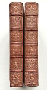 BEAUX & BELLES OF ENGLAND, PEG WOFFINGTON (2 Vols), GROLIER SOCIETY, Limited Edn