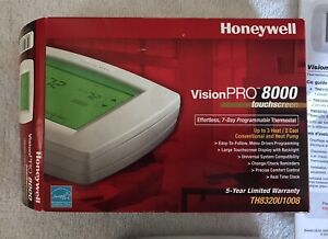 Honeywell VisionPro 8000 TH8320U1008 Touchscreen 7-Day Programmable Thermostat