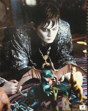 Johnny Depp Signed Autographed 11X14 Photo Dark Shadows Gv788761