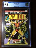 Strange Tales #178 (1975) - 1st Magus! - CGC 9.4!! - White Pages! - Key!!!