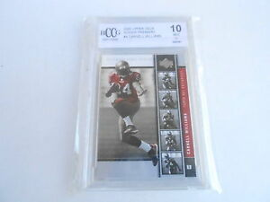 BCCG 10 2005 CARNELL WILLIAMS RB TAMPA BAY #4 UD PREMIERE football card ROOKIE