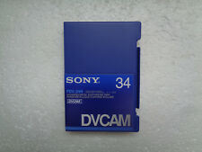 DVCAM SONY PDV-34N Didital Video Cassette - New