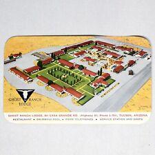 Ghost Ranch Lodge Tucson Arizona Vintage Postcard Unposted