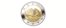 "2016 Malta 2 Euro ""Love"". First Coin ""From Children with Solidarity"" - New Issue"