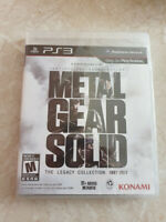 Metal Gear Solid Legacy Collection PS3 region free US import brand new sealed