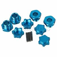 17mm Blau RC 1:8 T10061 Buggy Largefoot Car Auto Tuningteile 4er Pack