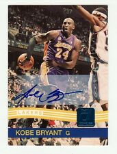 KOBE BRYANT 2010-11 DONRUSS ON CARD AUTO AUTOGRAPH #20/49 LOS ANGELES LAKERS