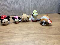 Disney Tsum Tsum X35Stackable Soft Toy Joblot Minnie Pluto TY Gypsy Bundle 80