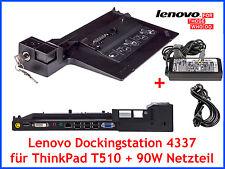 Original Lenovo Dockingstation 4337 + Schlüssel + 90W Netzteil für ThinkPad T510