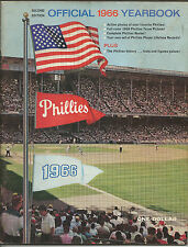 1966 PHILADELPHIA PHILLIES Baseball Yearbook 2nd Edition Bunning Callison EX
