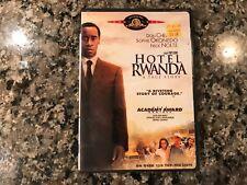 Hotel Rwanda Dvd! 2004 Drama/History.