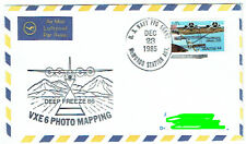 US Navy FPO McMurdo Station Antarktis Deep Freeze 86 VXE 6 1985 gel.